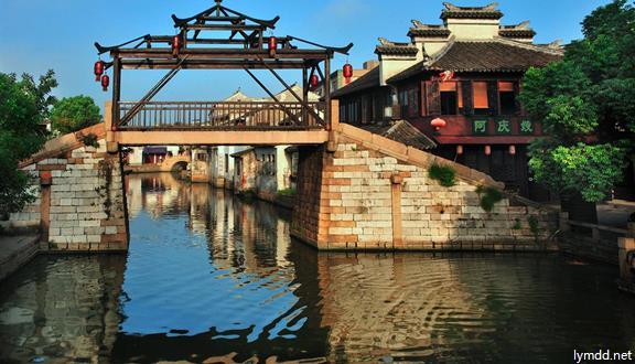 蘇州+陸巷古村+石湖+蟹宴1日跟團游