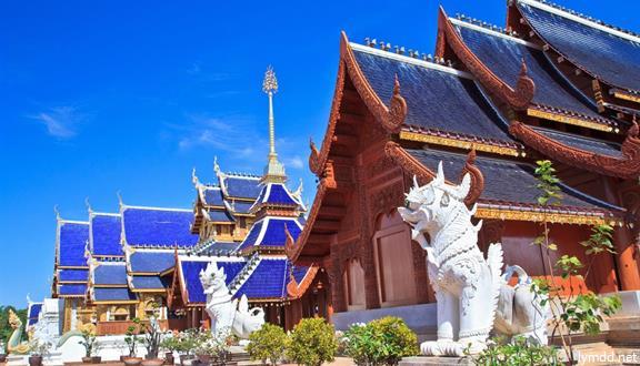 【惠玩】泰国清迈清莱5日4晚跟团游